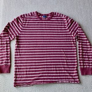 J Crew Long Sleeved crew neck shirt, Mens size XL.